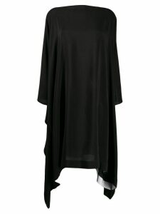 Gianluca Capannolo Eve silk dress - Black