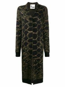 8pm metallic threading cardi-coat - Green