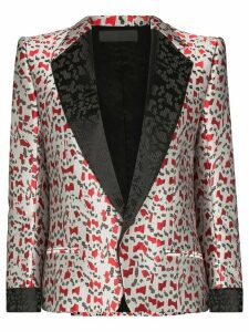Haider Ackermann Abstract jacquard blazer - Grey