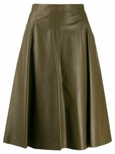 Drome mid-length A-line skirt - Green