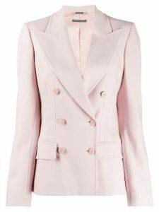 Alberta Ferretti double-breasted blazer - PINK