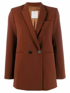 Sandro Paris double breasted blazer - Brown