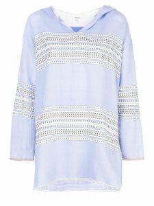 Lemlem Amira hoodie - Blue