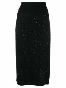 Fabiana Filippi embellished pencil skirt - Black