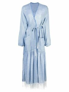 Lemlem Zinab robe dress - Blue