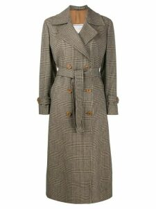 Giuliva Heritage Collection The Christie double breasted coat - Brown