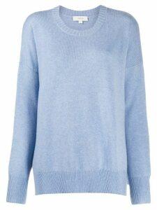 Áeron round neck jumper - Blue