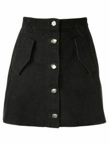 Aje buttoned a-line skirt - Black