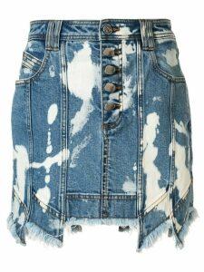 Aje Crawford mini skirt - Blue