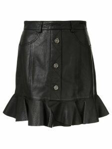 Aje short ruffled skirt - Black