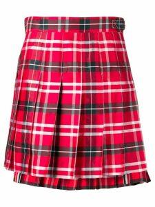 Thom Browne Thom Browne Tartan Miniskirt - Red