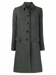 Aspesi single-breasted coat - Grey