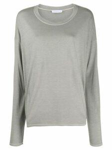 Fine Edge long-sleeve T-shirt - NEUTRALS