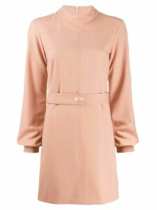 Victoria Victoria Beckham tie fastened shirt dress - Neutrals
