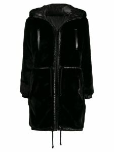 Michael Michael Kors reversible hooded parka coat - Black