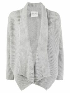 Forte Forte ribbed knitted cardigan - Grey