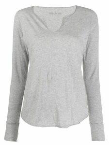 Zadig & Voltaire Life stars print T-shirt - Grey