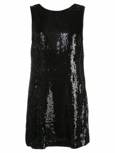 Alice+Olivia Kamryn sequinned mini dress - Black