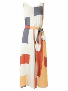 Alcaçuz geometric print Mayara dress - Multicolour