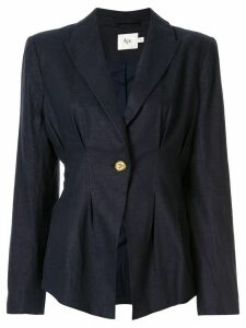 Aje Anne single breasted blazer - Blue