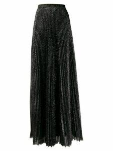 Philosophy Di Lorenzo Serafini pleated tulle lurex skirt - Black