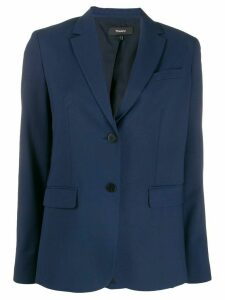 Theory single-breasted blazer - Blue