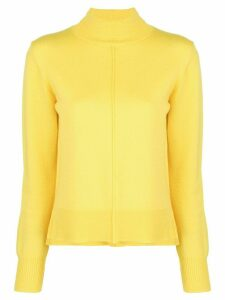 Sea roll-neck jumper - Yellow