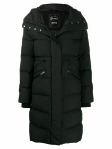 Herno padded hooded coat - Black