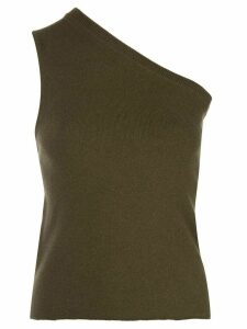 Extreme Cashmere one shoulder top - Brown