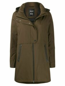 Herno padded hooded coat - Green
