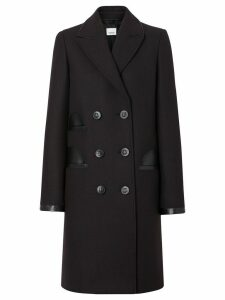 Burberry tailored double-breasted coat - Black