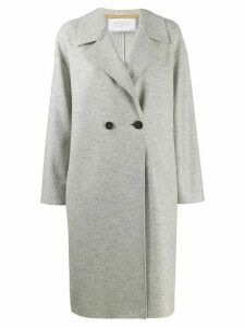 Harris Wharf London double-breasted fitted coat - Grey