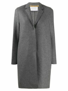 Harris Wharf London single-breasted fitted coat - Grey