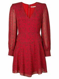 Alice+Olivia Polly leopard flared dress