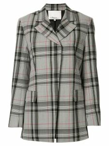 3.1 Phillip Lim plaid oversized blazer - Grey