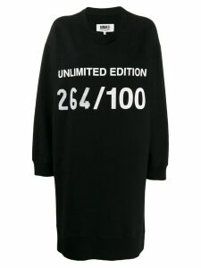Mm6 Maison Margiela oversized Unlimited Edition dress - Black