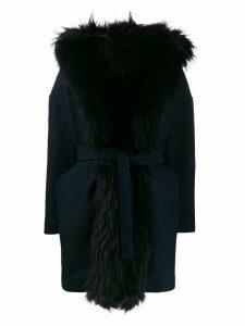 Ava Adore California hooded coat - Blue