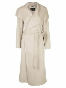 Mackage Mair belted midi coat - NEUTRALS