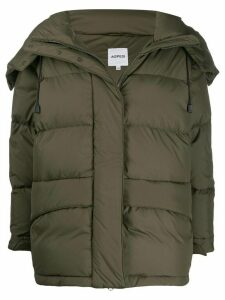 Aspesi quilted puffer coat - Green