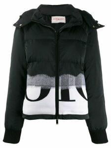 Iceberg branded puffer jacket - Black