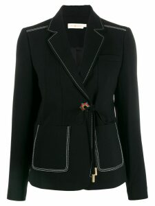 Tory Burch Grommet blazer - Black