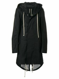 Rick Owens DRKSHDW fishtail parka coat - Black