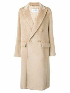 Max Mara straight-fit coat - Neutrals