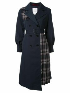 Loveless deconstructed coat - Blue