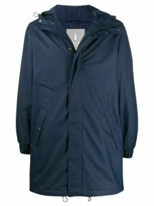 Rains hooded raincoat - Blue