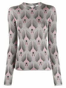 Paco Rabanne metallic knit jumper - Silver