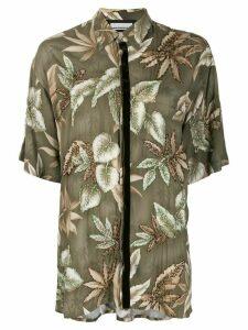 Night Market Hawaii short-sleeve shirt - Green
