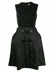 Maison Margiela oversized puffer skirt dress - Black