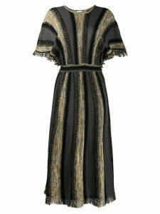 M Missoni striped long dress - Grey