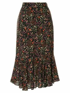 Loveless floral pattern skirt - Black